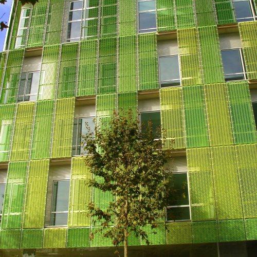 Maler Bielefeld, Farbkonzepte für Fassaden: Edificio Pallars in Barcelona, konzipiert von Stenner und Keitel