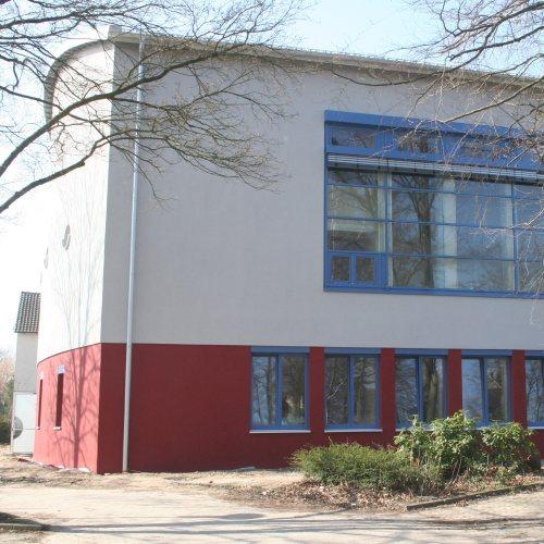 Maler Bielefeld, Farbkonzepte für Fassaden: Leo-Sümpfer-Berufskolleg in Minden, entworfen von Stenner und Keitel