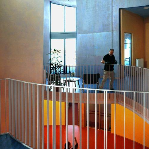 Maler Bielefeld, Innenraum: Freunde der Erziehungskunst, Bürogebäude in Karlsruhe
