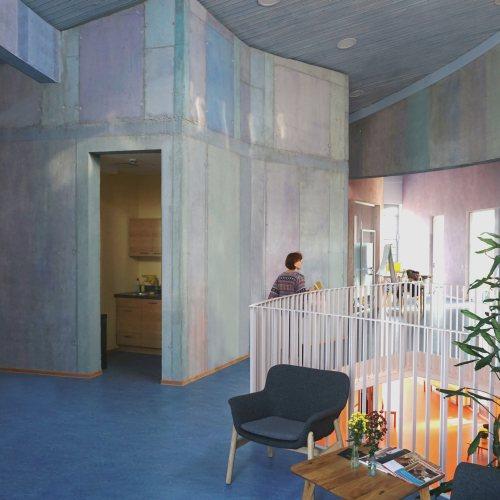 Maler Bielefeld, Innenraum: Freunde der Erziehungskunst in Karlsruhe, Bürogebäude