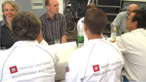 Maler Bielefeld, Jobs: Wir bei Stenner und Keitel suchen engagierte Gesellinnen und Gesellen