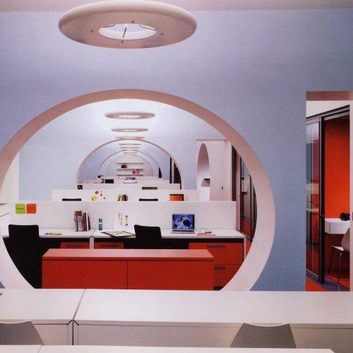 Maler Bielefeld, Raumgestaltung: Gestaltungskonzept für einen Büroraum in Barcelona von Stenner und Keitel