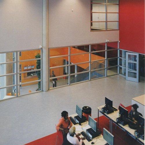 Maler Bielefeld, Raumgestaltung: Titelbild, Büroraum und Eingangshalle, Stenner und Keitel