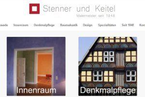Maler Bielefeld, hier geht es zur Startseite von Stenner und Keitel