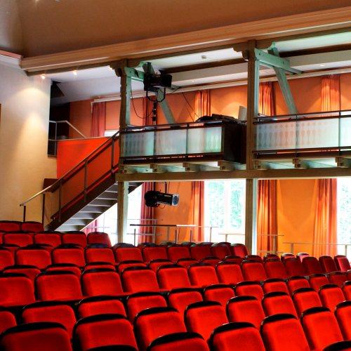 Maler Bielefeld, Raumgestaltung: Farbkonzept für den Zuschauerraum im Sommertheater Detmold von Stenner und Keitel